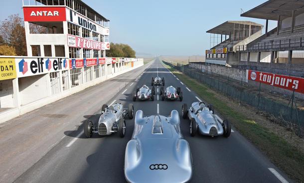 Silberpfeil Bilder technische Daten Motorsport Oldtimer