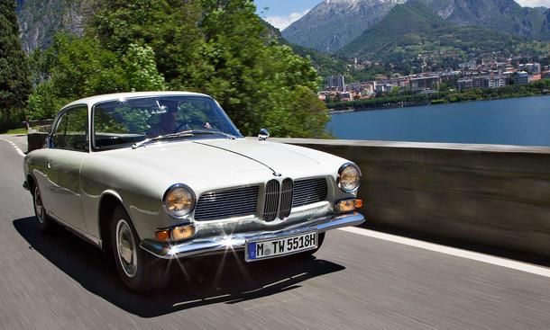 BMW 3200 CS Bertone Bilder technische Daten Oldtimer Reportage