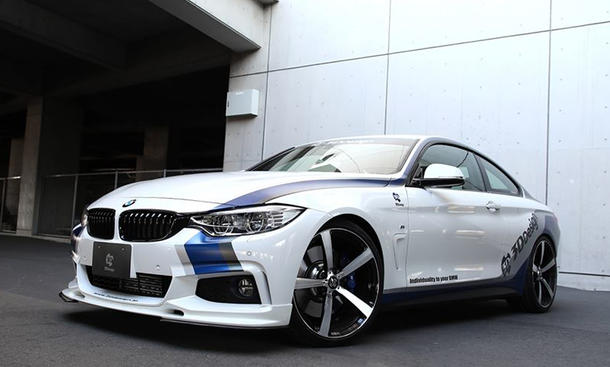 BMW4er Tuning F32 3D Design Sportcoupé 435i Bilder 2014