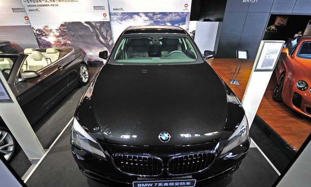 BMW China Absatzmarkt Verkaufszahlen 2013 Wirtschaft