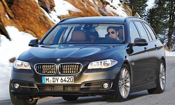 Bilder BMW 530d xDrive Touring Kurvenfahrt