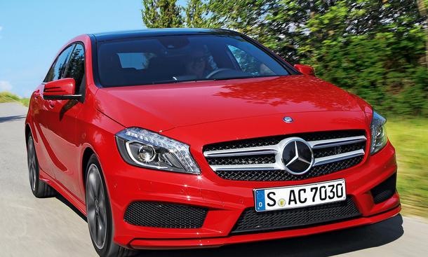 Mercedes A-Klasse Kaufberatung technische Daten Bilder Test Front