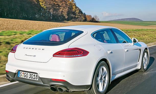 Bilder Porsche Panamera 4S Vergleichstest Luxusklasse-Limousinen