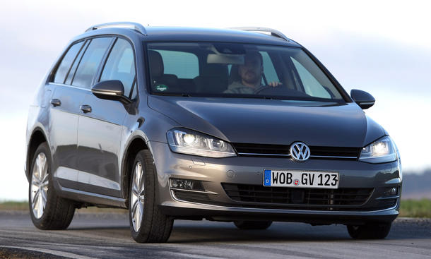 Bilder VW Golf Variant 1.4 TSI BlueMotion Technology Kompaktklasse-Kombis