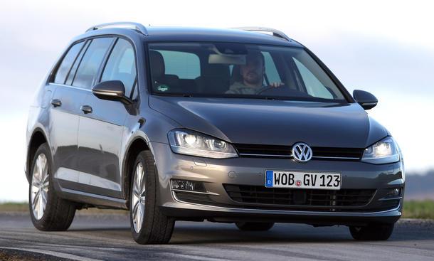 Bilder VW Golf Variant 1.4 TSI BlueMotion Technology Kompaktklasse-Kombis