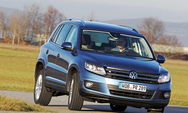 Bilder VW Tiguan 2.0 TDI 4MOTION BlueMotion Technology