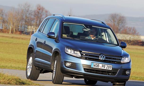 Bilder: VW Tiguan 2.0 TDI 4MOTION BlueMotion Technology Kompakt SUV