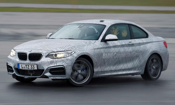 CES 2014 BMW selbstfahrende Autos hochautomatisiertes Fahren