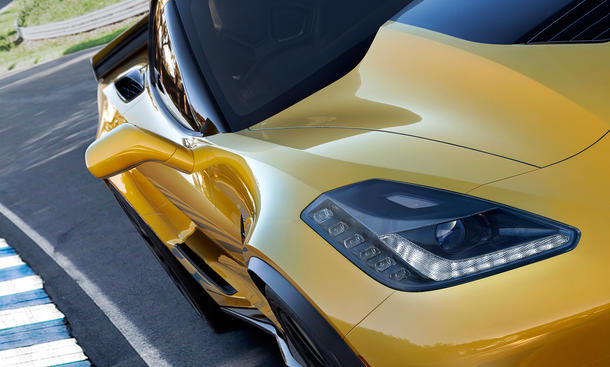 Corvette Z06 2014 Detroit Auto Show Stingray C7 Z07