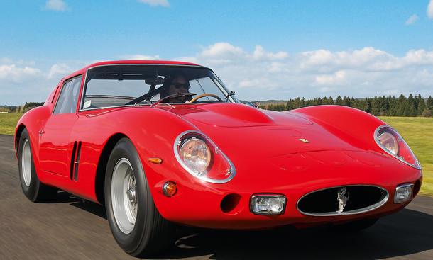 Ferrari 250 GTO Traumwagen Bilder technische Daten