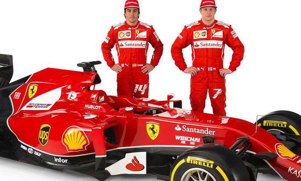 Ferrari F1 2014 Rennwagen F14T vorgestellt Scuderia Premiere