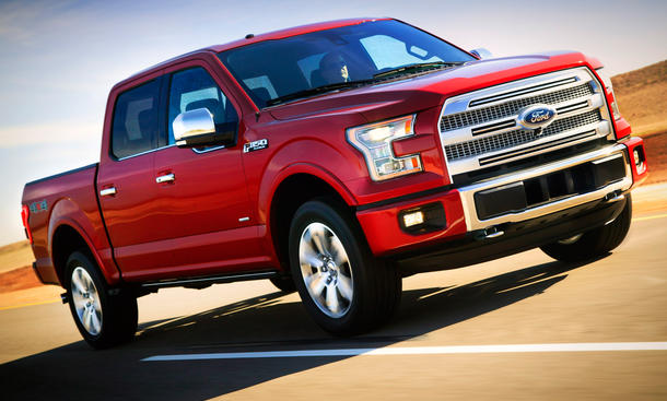 Ford F-150 Detroit Auto Show 2014 Pick-Up Bilder NAIAS Neue Generation