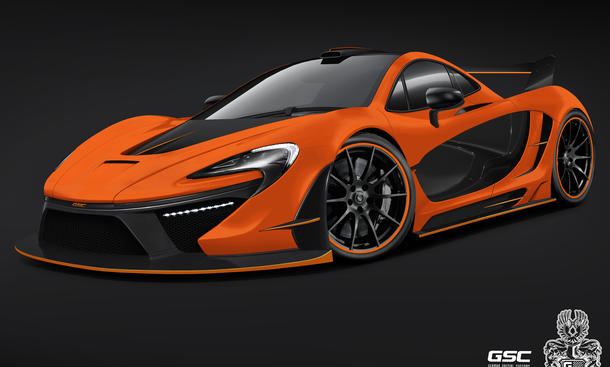German Special Customs GSC McLaren P1 Hybrid Tuning Bodykit