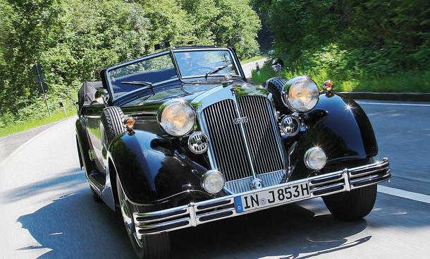 Horch Historie Geschichte Bilder Audi Autogeschichte