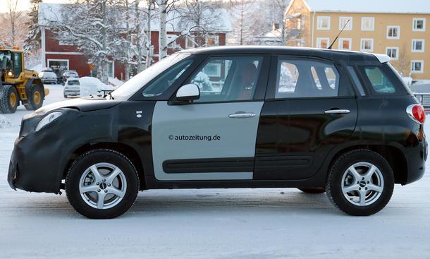 Jeep Jeepster Fiat 500x Kompakt-SUV Erlkönig Plattform Erprobung