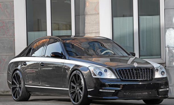 Knight Luxury Sir Maybach 57S Tuning Carbon Luxus-Limousine