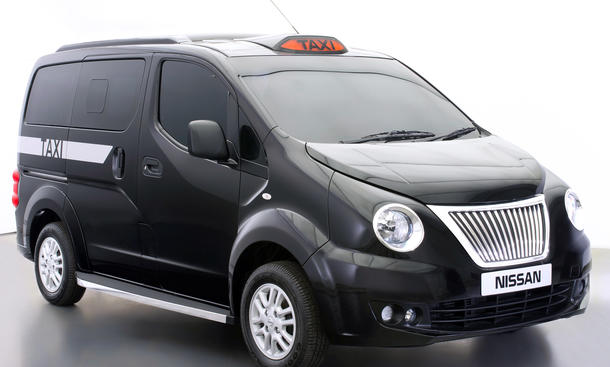 London Taxi 2014 Nissan NV200 Black Cab