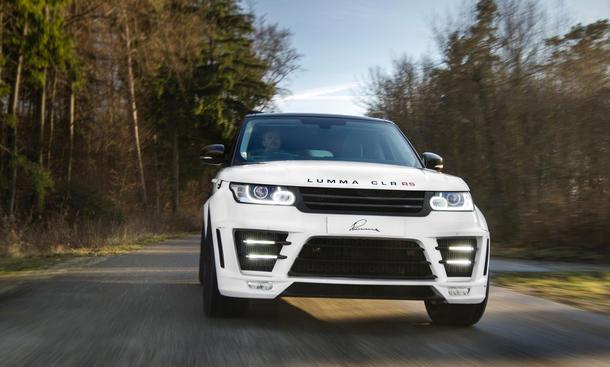 Lumma CLR RS Range Rover Sport 2013 Tuning Bodykit Leistungssteigerung