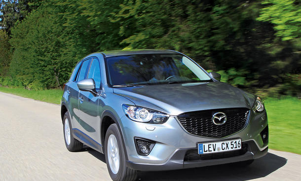 Mazda CX-5 Kaufberatung Test Motoren Ausstattungen Bilder technische Daten
