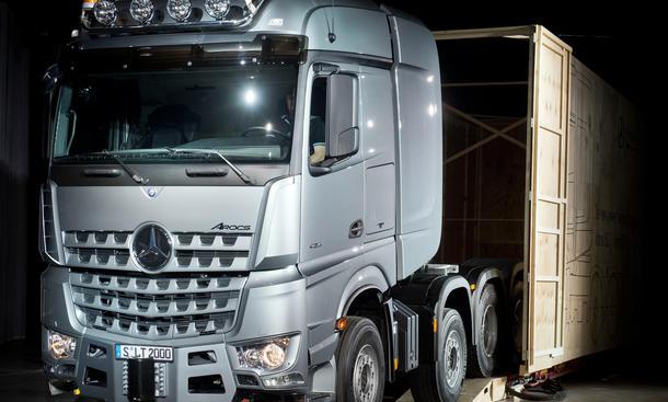 Mercedes Arocs SLT 2014 Schwerlast Truck Actros Topmodell