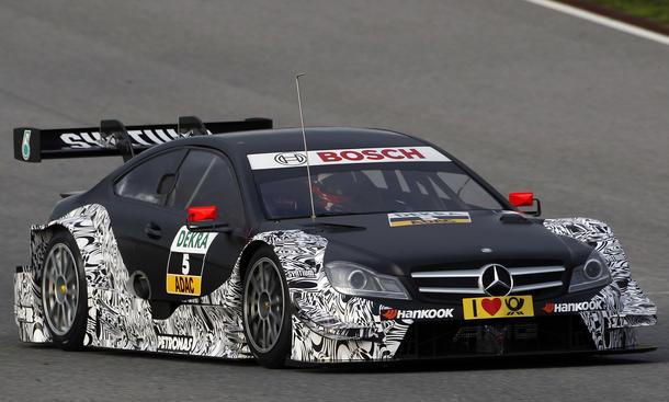 Mercedes DTM 2014 Paul di Resta Comeback Champion