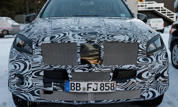 Mercedes ML Facelift 2015 Erlkönig 2014 M-Klasse SUV Bilder