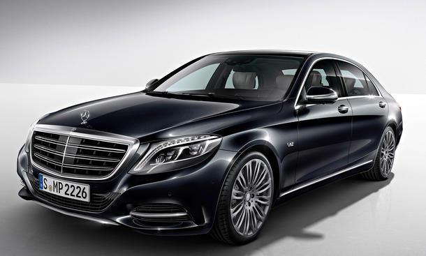 Mercedes S 600 V12 Detroit Auto Show 2014 Luxus-Limousine
