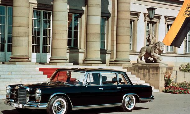 Mercedes S-Klasse Topmodelle Luxuslimousine W 222 S 600