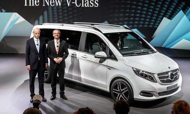 Mercedes V-Klasse 2014 Preis Viano-Nachfolger Transporter Van