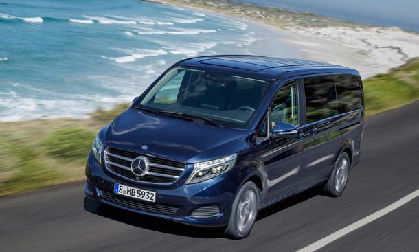 Mercedes V-Klasse 2014 Viano-Nachfolger enthüllt Transporter Van Markteinführung