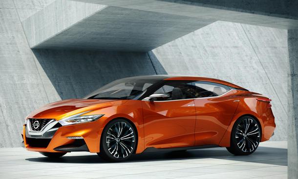 Nissan Sport Sedan Concept Detroit 2014 Studie Limousine NAIAS Bilder