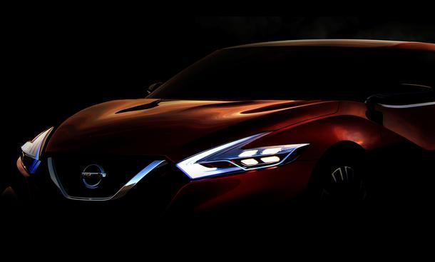 Nissan Sport Sedan Concept 2014 Detroit Auto Show Sportlimousine Studie