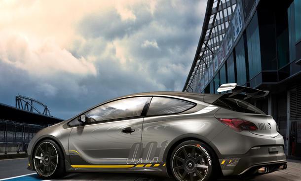 Opel Astra OPC Extreme 2014 Autosalon Genf Studie Kompaktsportler Bilder