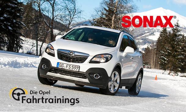 Gewinnspiel Opel Wintertraining Sonax Winter Event Fahrt