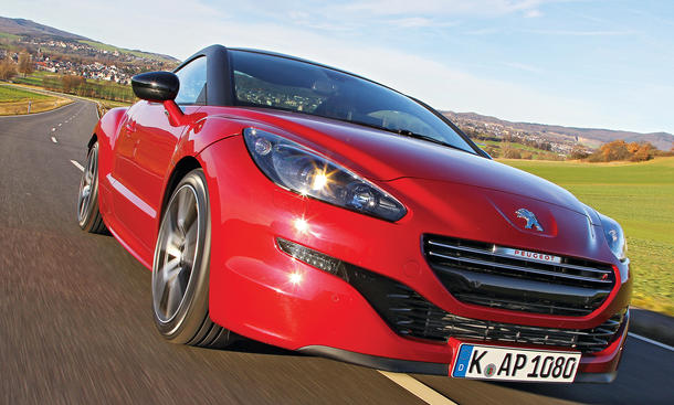 peugeot rcz r im test bilder und technische daten. Black Bedroom Furniture Sets. Home Design Ideas