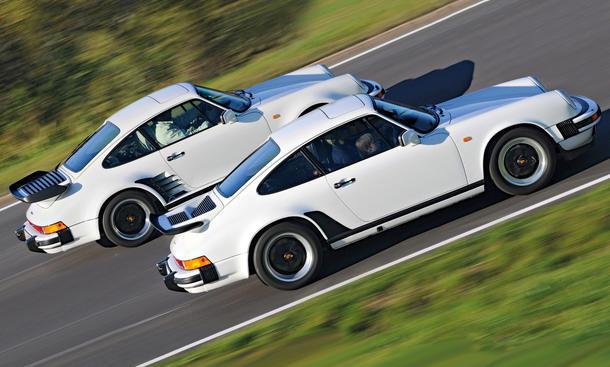 Porsche 911 Carrera 3.2 Turbo 3.3 Bilder technische Daten Vergleich Test