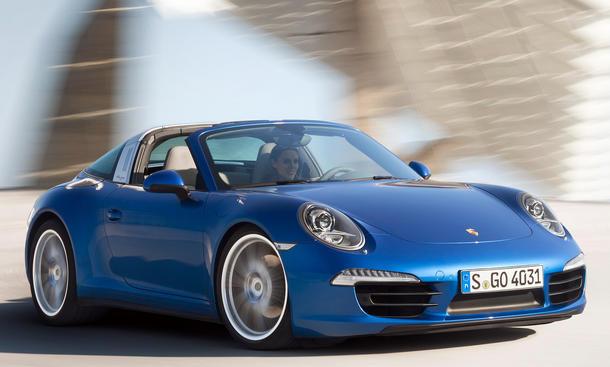 Porsche 911 Targa 2014 Detroit Auto Show 991 NAIAS Fotos