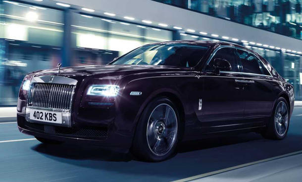 Rolls-Royce Ghost V-Specification Sondermodell Luxus-Limousine
