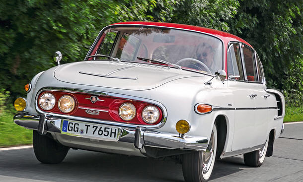 Tatra 603 Fahrbericht Oldtimer Bilder technische Daten