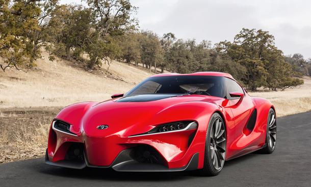 Toyota FT-1 2014 Detroit Auto Show Studie Sportwagen Concept Car