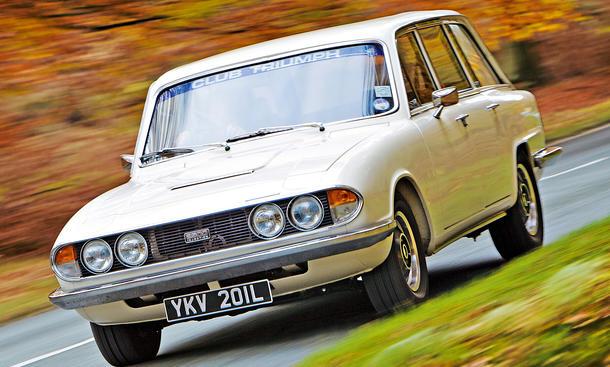 Triumph 2.5 PI Estate Car Fahrbericht Bilder technische Daten