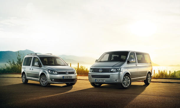 VW Caddy Multivan Cup Sondermodell 2014 Preis Bilder