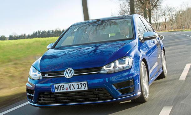 2014 VW Golf R VII Fahrbericht Mitfahrt Performance