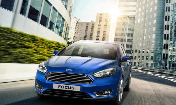 Ford Focus Facelift 2014 Genfer Autosalon Motoren Kombi Hatchback Kompaktklasse
