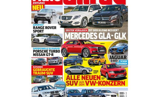 AUTO ZEITUNG Allrad 01/2014 Vorschau Cover