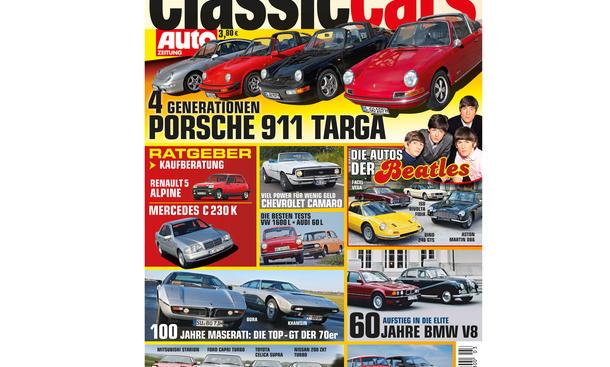 AUTO ZEITUNG Classic Cars 03 2014 Heft Vorschau Cover