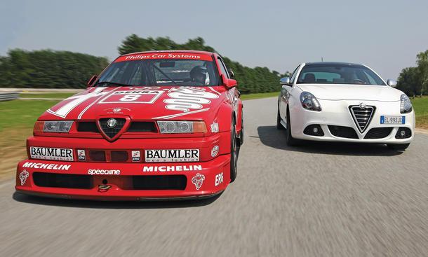 Alfa Romeo 155 V6 Ti DTM Giulietta 1.8 TBi 16V QV Bilder technische Daten