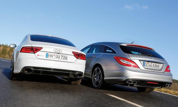 Audi Rs7 Vs Mercedes Cls Autos Post
