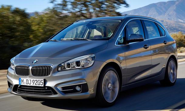 BMW 2er Active Tourer 2014 Genfer Autosalon Van 225i