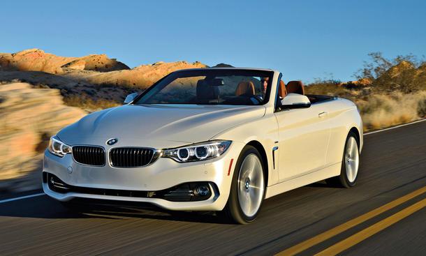 BMW 435i Cabrio Fahrbericht Bilder technische Daten